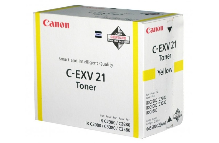 Yellow Toners for colour devices iR3380 iR3380i iR2880 iR2880i